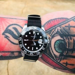 Parnis GMT automatic
